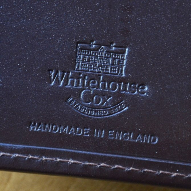 Whitehouse Cox (ホワイトハウスコックス)  3FOLD WALLET BRIDLE S7660 -HAVANA-(10)