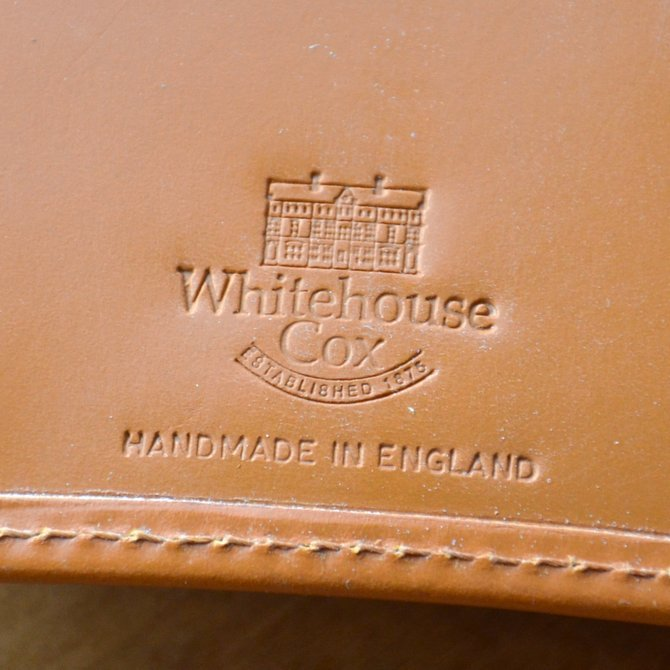 Whitehouse Cox (ホワイトハウスコックス)  3FOLD WALLET BRIDLE S7660 -NEWTON-(10)