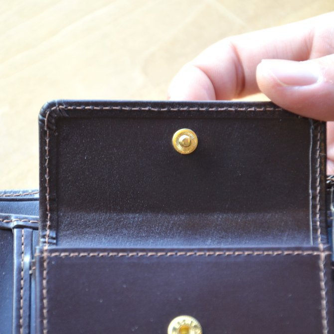 Whitehouse Cox (ホワイトハウスコックス)  COIN WALLET BRIDLE S7532 -HAVANA-(10)