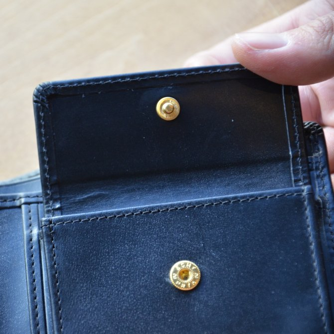 Whitehouse Cox (ホワイトハウスコックス)  COIN WALLET BRIDLE S7532 -BLACK-(10)