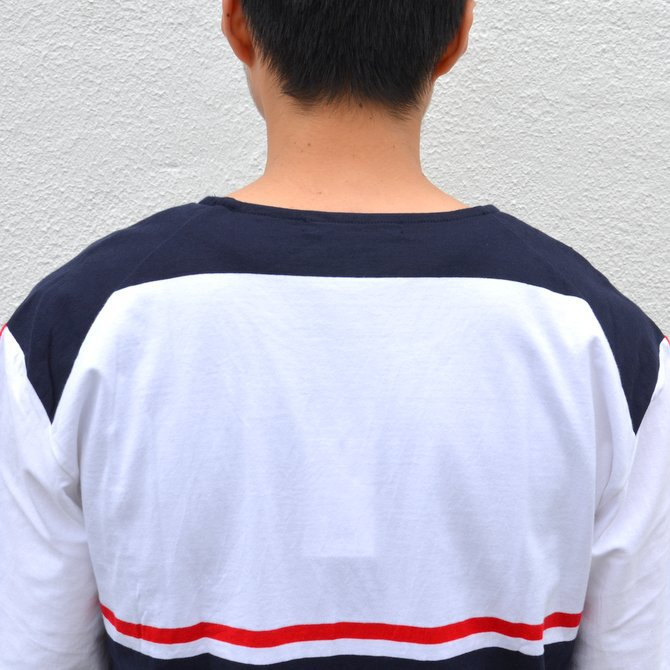 【40% off sale】semoh(セモー)/ S/S TEE -BORDER- #11-3-02(10)