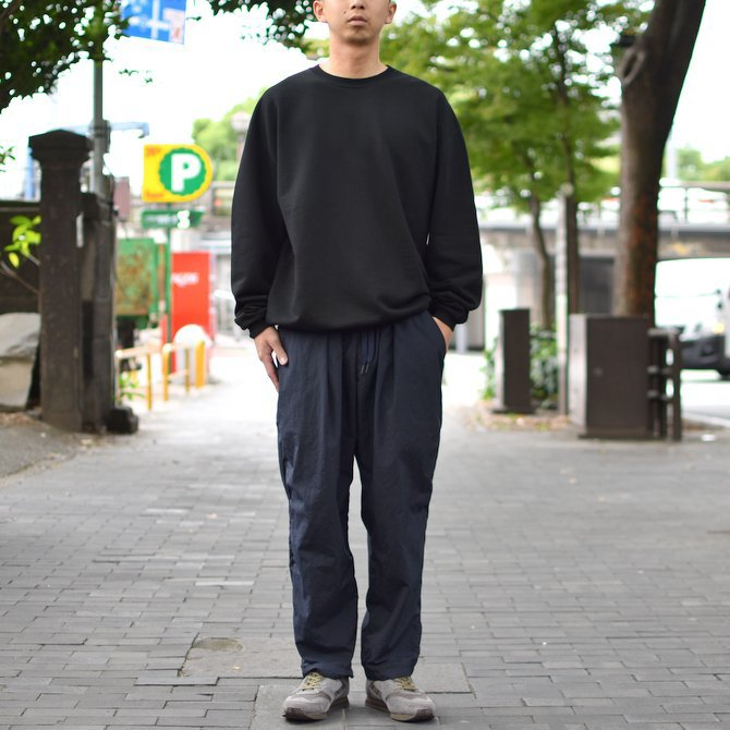 【2018 AW】AURALEE(オーラリー)/ SUPER SOFT HEAVY SWEAT P/O -BLACK- #A8AP01GU(10)