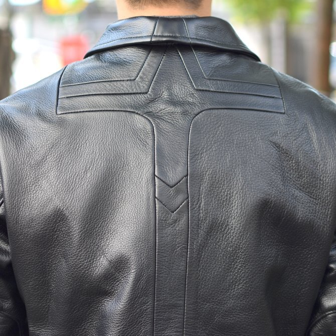 【2018 AW】 FRANK LEDER(フランクリーダー) | ARCHIVE EDITION COW LEATHER BIKE JACKET + SPADE -(99)BLACK- #0422065-99(10)