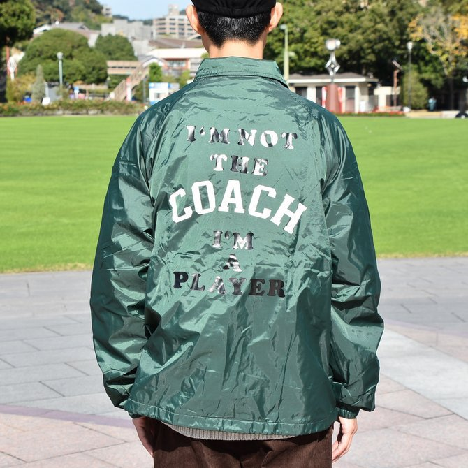 【2018 AW】 TODAY editon (トゥデイエディション) COACH JAKCET -DARK GREEN- #TE-20(10)