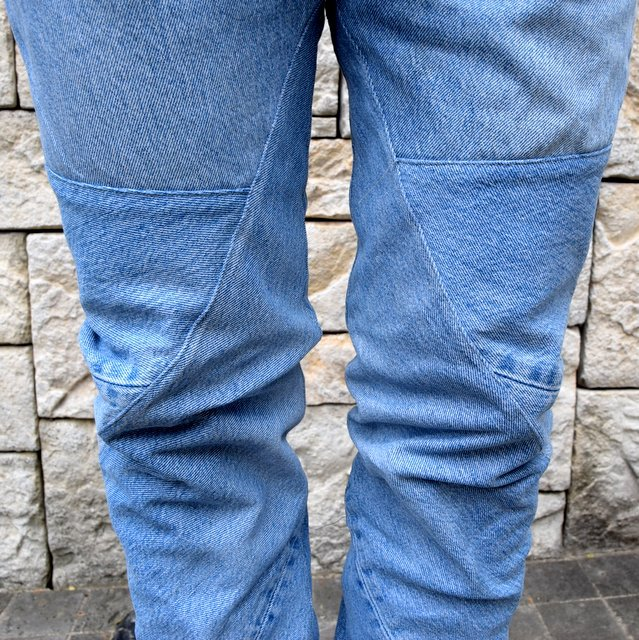 OLD PARK / SHIFT JEANS -BLUE- #OP-344(10)