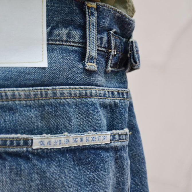 YOUNG&OLESEN(ヤングアンドオルセン) big cinch jeans-WASHED OUT-(11)