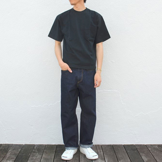 CAMBER(キャンバー) MAX WEIGHT POCKET TEE -BLACK-(11)