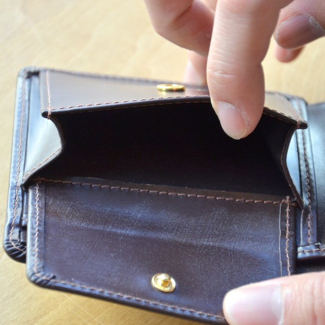Whitehouse Cox (ホワイトハウスコックス)  COIN WALLET BRIDLE S7532 -HAVANA-(11)