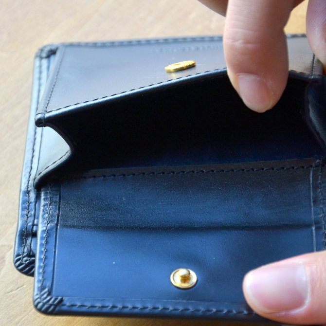 Whitehouse Cox (ホワイトハウスコックス)  COIN WALLET BRIDLE S7532 -BLACK-(11)