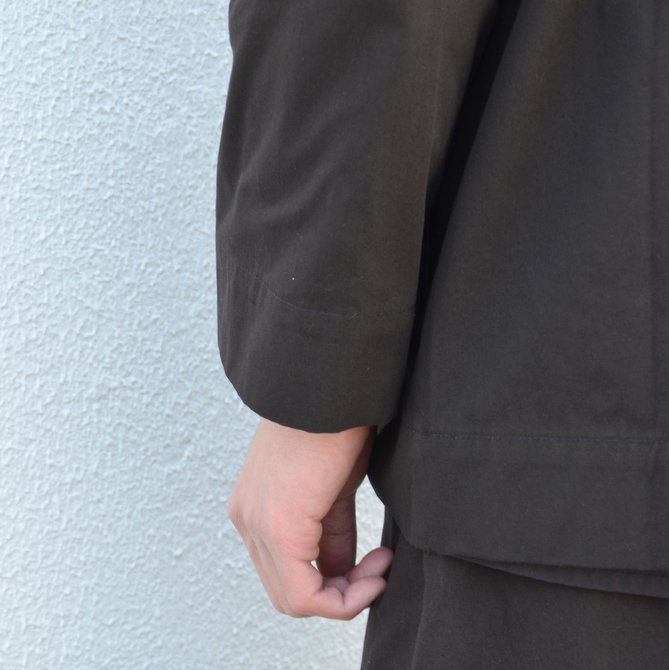 too good(トゥーグッド) / THE PHOTOGRAPHER JACKET PLAIN COTTON -SOOT-(11)