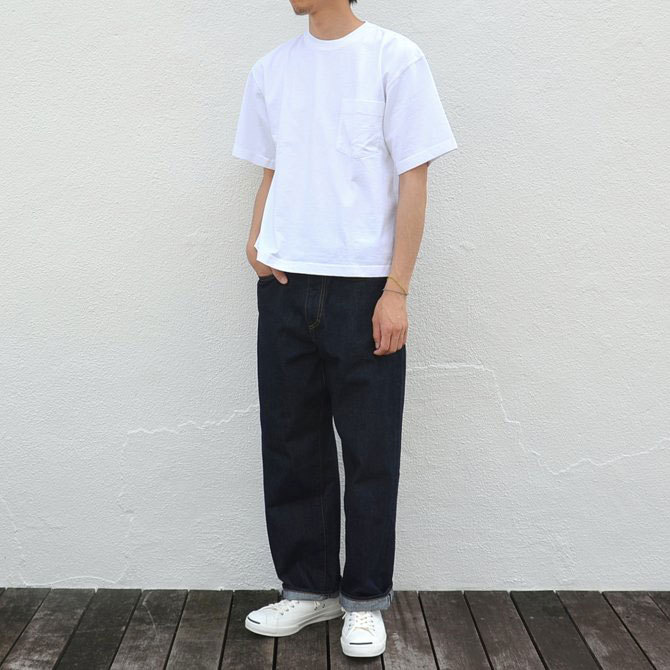 CAMBER(キャンバー) MAX WEIGHT POCKET TEE -WHITE-(12)