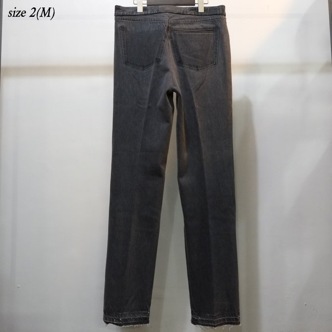 7 ×7 / seven by seven ( セブン バイ セブン )   REWORK DENIM TROUSERS  - BLACK - size 2(M) (12)