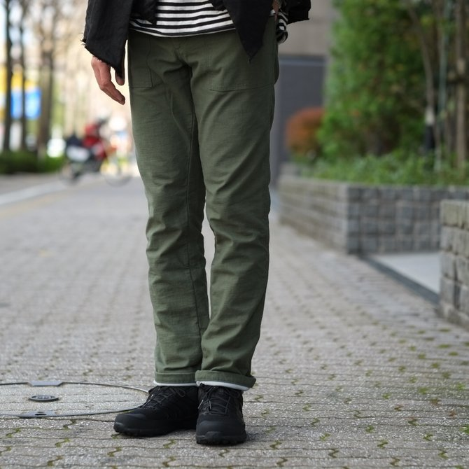 【30%OFF SALE 】MYTHINKS(マイシンクス) SURVIVAL PANT -Olive-(12)