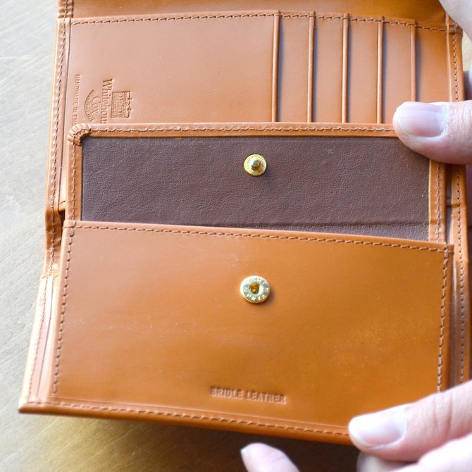 Whitehouse Cox (ホワイトハウスコックス)  3FOLD WALLET BRIDLE S7660 -NEWTON-(12)