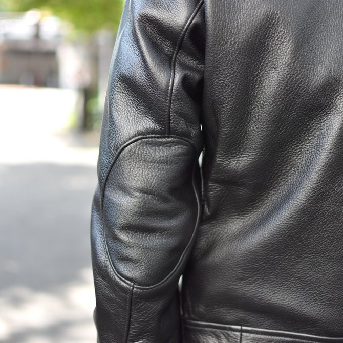 【2018 AW】 FRANK LEDER(フランクリーダー) | ARCHIVE EDITION COW LEATHER BIKE JACKET + SPADE -(99)BLACK- #0422065-99(12)