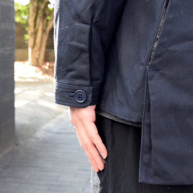 holk (ホーク) Farmers jacket -NAVY- #HOLK-002 (12)