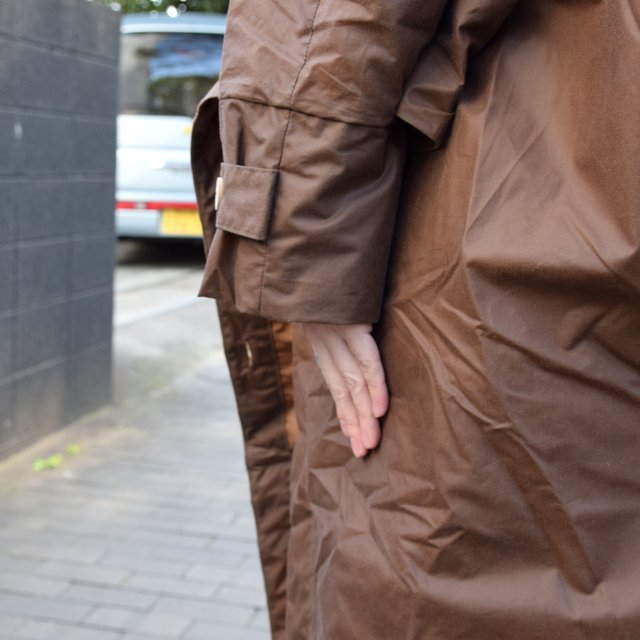 【2019 SS】 too good(トゥーグッド) / THE MESSENGER CAPE WAXED COTTON LW -CLAY-(12)