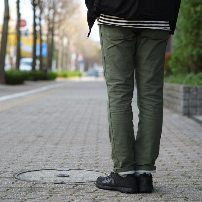 【30%OFF SALE 】MYTHINKS(マイシンクス) SURVIVAL PANT -Olive-(13)