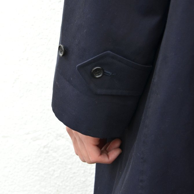 ANATOMICA(アナトミカ)/ SINGLE RAGLAN COAT GABARDINE -(500)NAVY- #530-511-06(13)