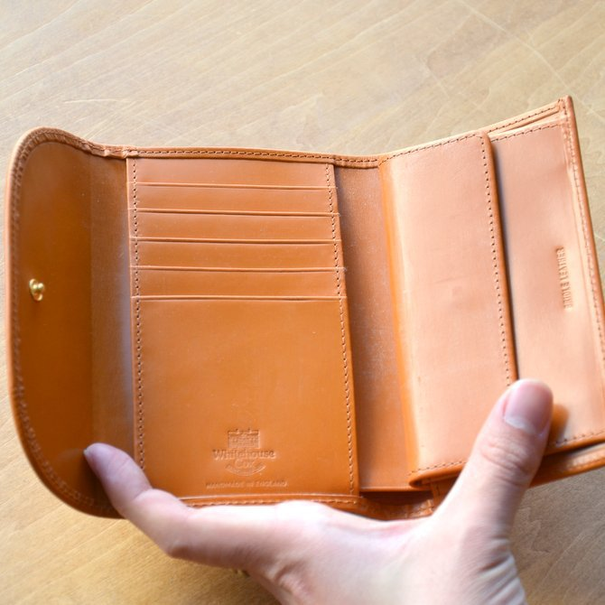 Whitehouse Cox (ホワイトハウスコックス)  3FOLD WALLET BRIDLE S7660 -NEWTON-(13)
