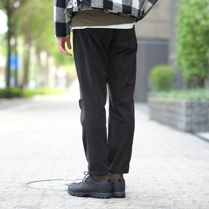 【2017 AW】South2 West8(サウスツーウエストエイト) 1P Cycle Pant [Polaetec/Classic Fleece] -BLACK-  #BG825(13)