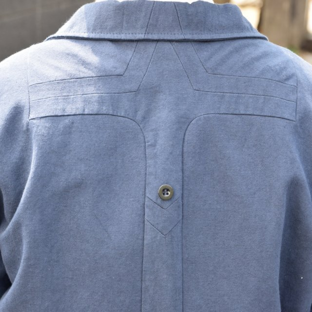 【30% off sale 】FRANK LEDER(フランクリーダー) COTTON SPADE JACKET -(39)NAVY- #0612009-39(13)