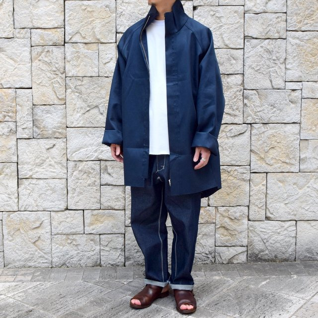【30% off sale 】 CAMIEL FORTGENS(カミエル フォートゲンス)/FOOTBALL COAT RUB MACKINTOSH(13)