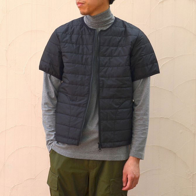MASTER&Co.(マスターアンドコー) THINSULATE S/S INNER DOWN -(99)BLACK-(1)