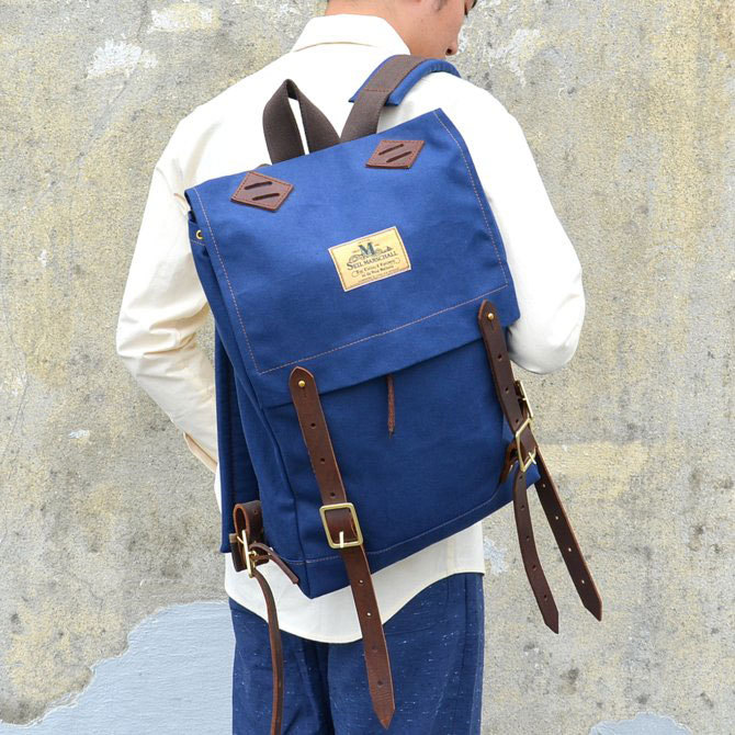 SEIL MARSCHALL(サイル マーシャル) MINI-CANOE PACK -(39CA)NAVY-(1)