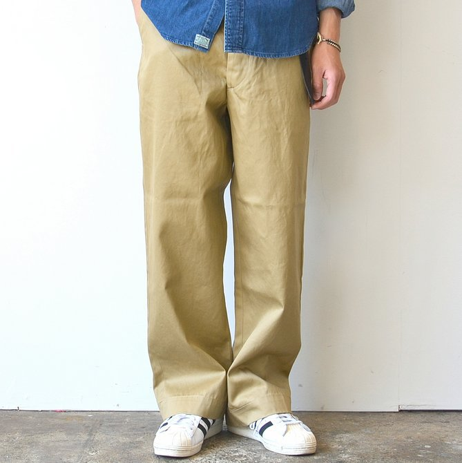 orSlow(オアスロウ)/ VINTAGE FIT ARMY TROUSE -(40)KHAKI- #03-V5361-40(1)