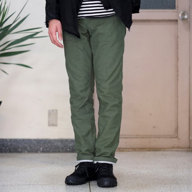 【30%OFF SALE 】MYTHINKS(マイシンクス) SURVIVAL PANT -Olive-(1)
