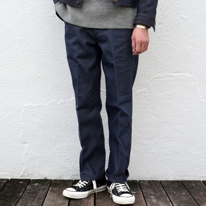 STABILIZER GNZ(スタビライザージーンズ) FLANNEL LINED TROUSER -INDIGO- #0-26(1)