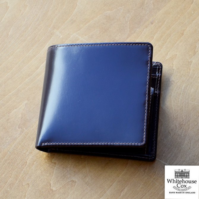 Whitehouse Cox (ホワイトハウスコックス)  COIN WALLET BRIDLE S7532 -HAVANA-(1)