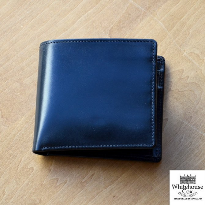Whitehouse Cox (ホワイトハウスコックス)  COIN WALLET BRIDLE S7532 -BLACK-(1)