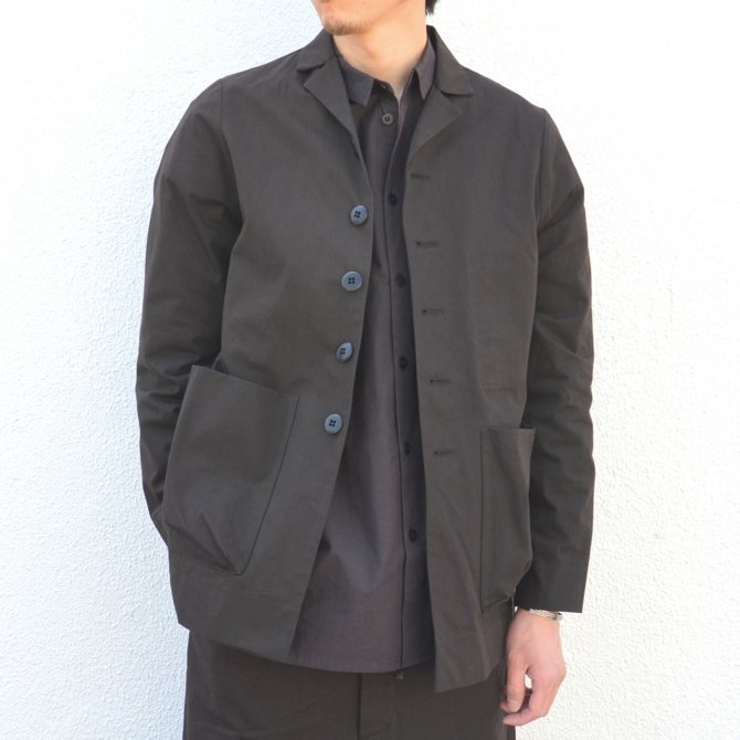 too good(トゥーグッド) / THE PHOTOGRAPHER JACKET PLAIN COTTON -SOOT-(1)