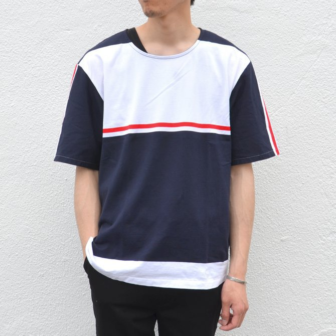 【40% off sale】semoh(セモー)/ S/S TEE -BORDER- #11-3-02(1)