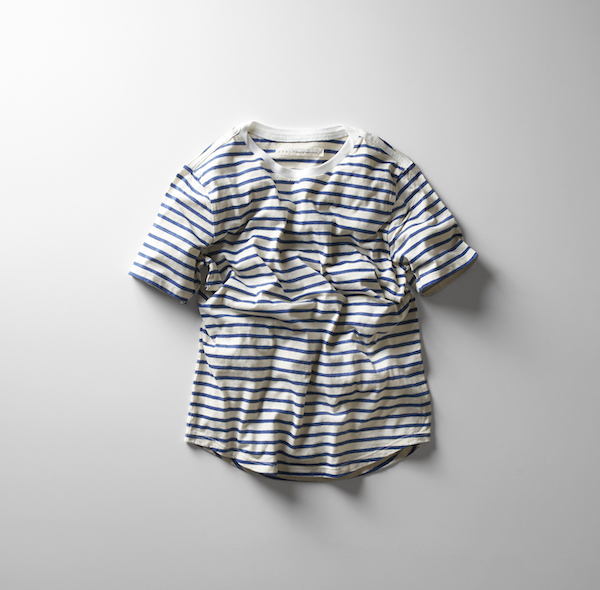 【18 SS】 Curly(カーリー) BRUSH BORDER SS TEE  -2色展開- #181-04041(1)