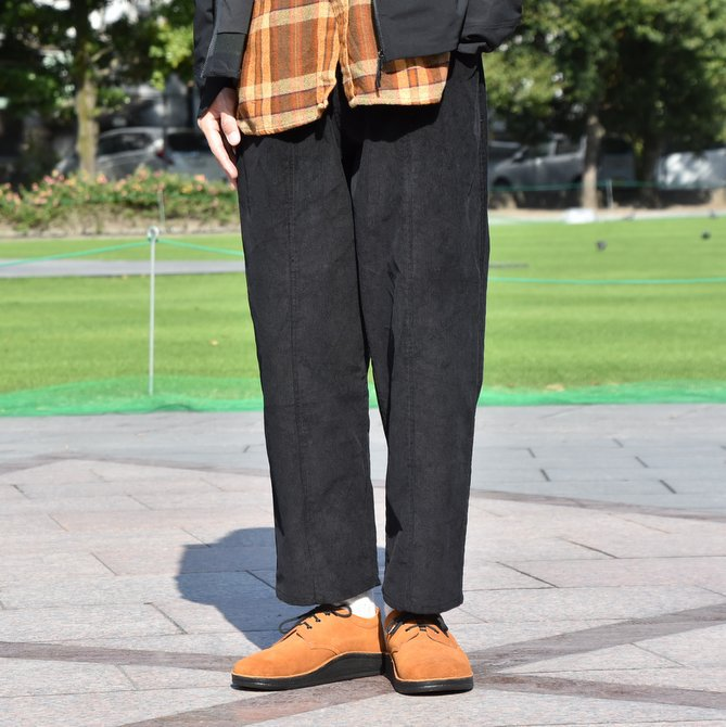 South2 West8(サウスツーウエストエイト) Army String Pant  [14W Corduroy] -BLACK-  #DI816(1)