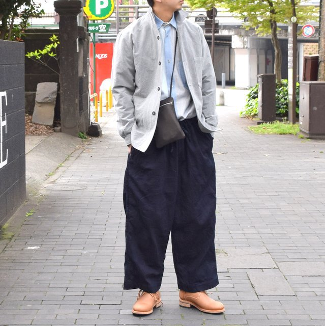【30% off sale 】 FRANK LEDER(フランクリーダー)INDIGO DYED WASHED TROUSERS #0613030-39(1)