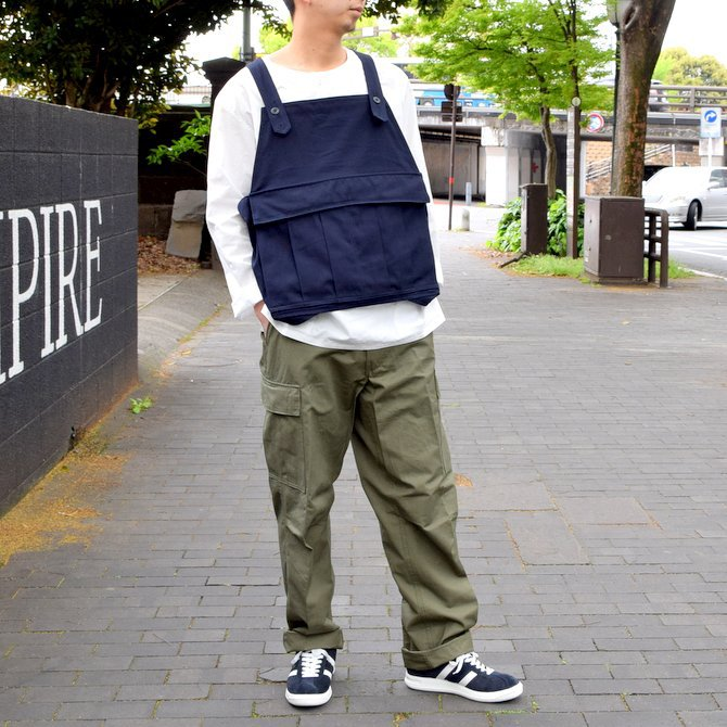 【2019 SS】BROWN by 2-tacs SEED IT -NAVY- #B21-V002(1)