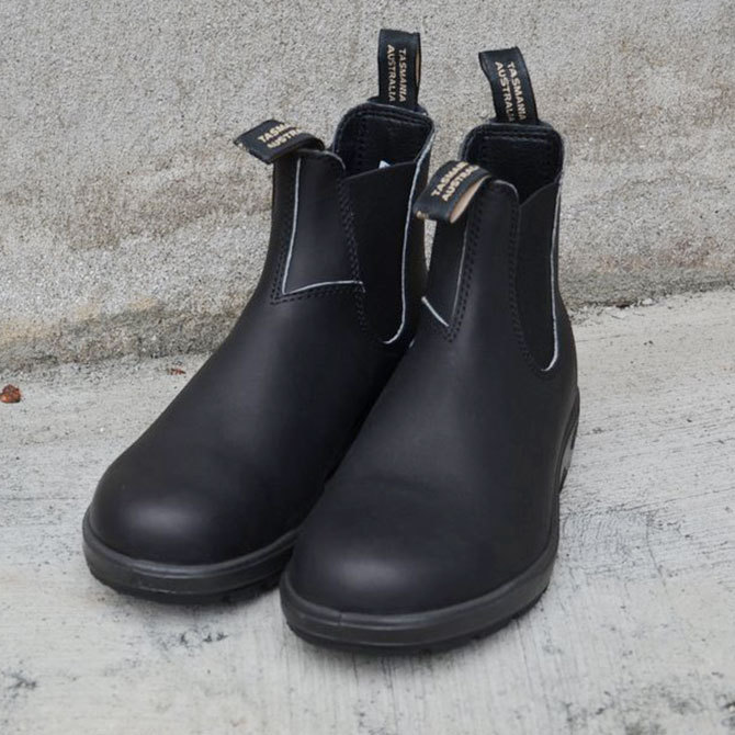 Blundstone(ブランドストーン) PU/TPU-ELASTIC SIDED-V CUT -Voltan Black-(2)