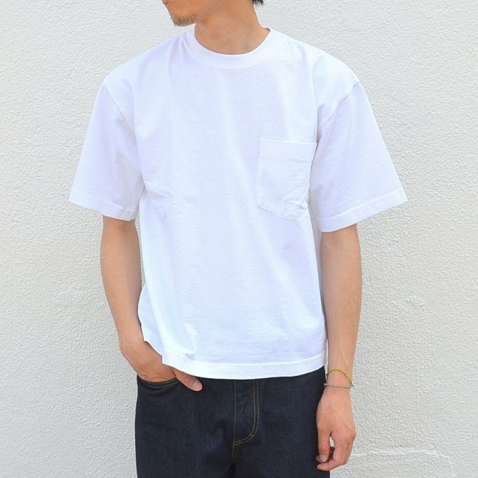 CAMBER(キャンバー) MAX WEIGHT POCKET TEE -WHITE-(2)
