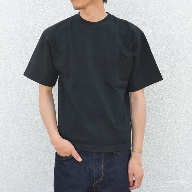 CAMBER(キャンバー) MAX WEIGHT POCKET TEE -BLACK-(2)