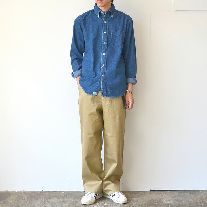 orSlow(オアスロウ)/ VINTAGE FIT ARMY TROUSE -(40)KHAKI- #03-V5361-40(2)