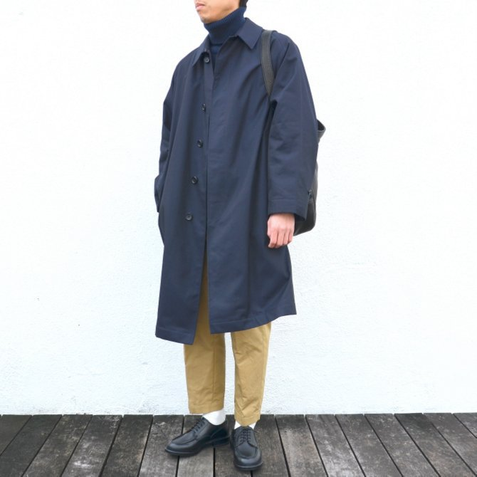 ANATOMICA(アナトミカ)/ SINGLE RAGLAN COAT GABARDINE -(500)NAVY- #530-511-06(2)