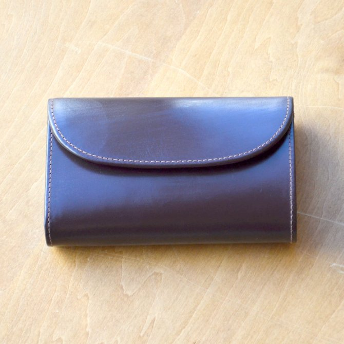 Whitehouse Cox (ホワイトハウスコックス)  3FOLD WALLET BRIDLE S7660 -HAVANA-(2)
