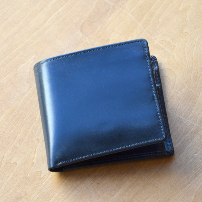 Whitehouse Cox (ホワイトハウスコックス)  COIN WALLET BRIDLE S7532 -BLACK-(2)