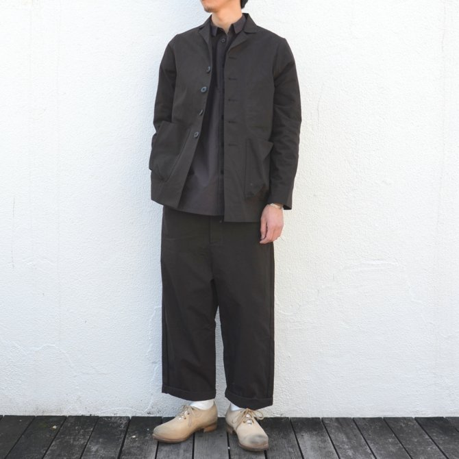too good(トゥーグッド) / THE PHOTOGRAPHER JACKET PLAIN COTTON -SOOT-(2)