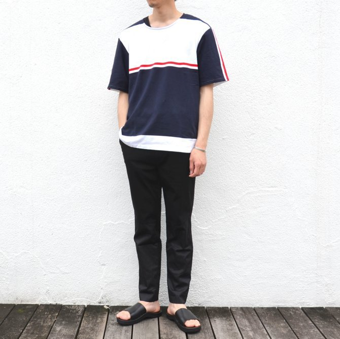 【40% off sale】semoh(セモー)/ S/S TEE -BORDER- #11-3-02(2)