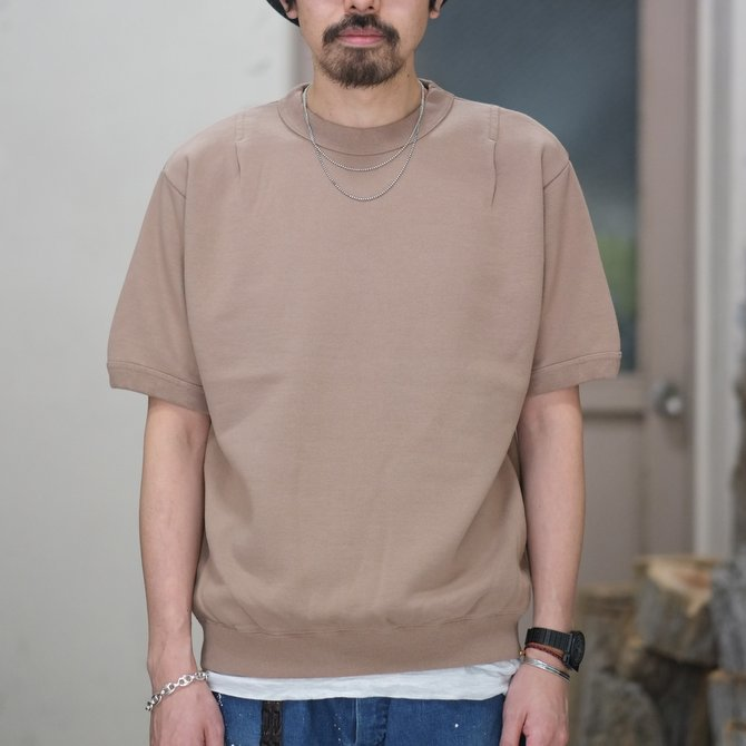 【30% off SALE】【2018 SS】7 × 7 / seven by seven ( セブン バイ セブン ) TACK SWEAT HS  -BEIGE- #SBSS18TSWH(2)